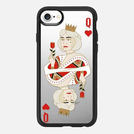 queen of hearts / King and Queen romanting matching - Casetify