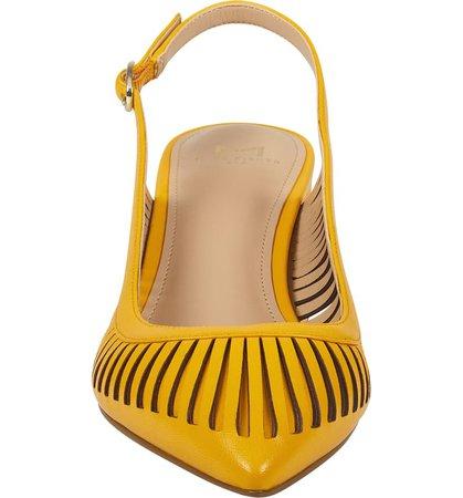 Marc Fisher LTD Zabie Slingback Pointy Toe Pump (Women) | Nordstrom