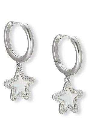Jae Star Huggie Hoop Earrings | Nordstrom