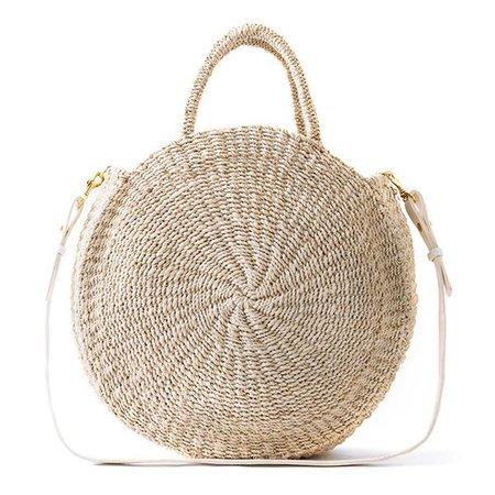 Woven Sisal Straw Bag