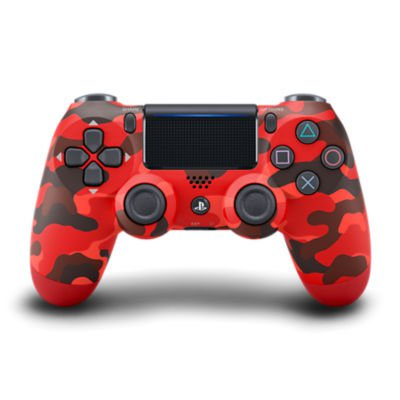 DUALSHOCK®4 Wireless Controller for PS4™ - Red Camouflage Accessory
