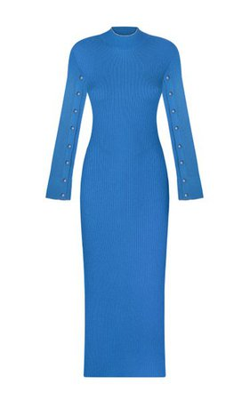 Paris Breakfast Ribbed-Knit Maxi Dress By Anna October | Moda Operandi