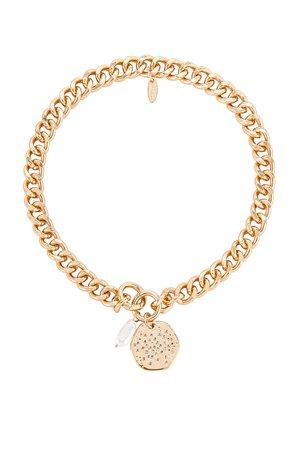 Ettika Pearl Pendant Necklace in Gold | REVOLVE