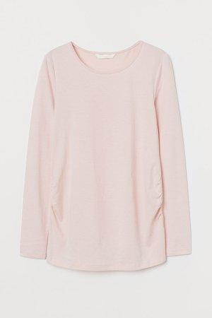 MAMA Jersey Top - Pink
