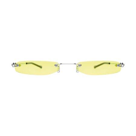 Christinah Jones Yellow Lens Sunglasses