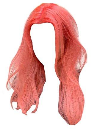 coral hair png