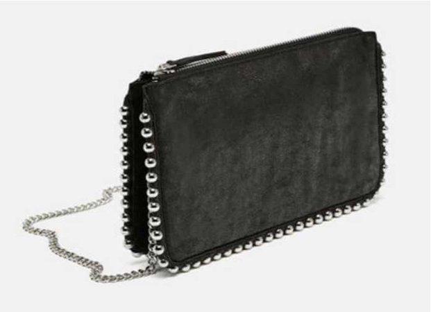 Zara studded purse