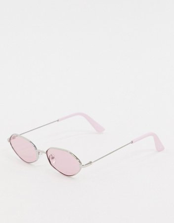 Skinnydip pink coloured lense sunglasses | ASOS