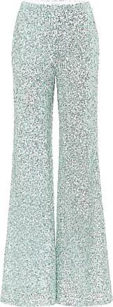 Mint Sequin Halpern Pants