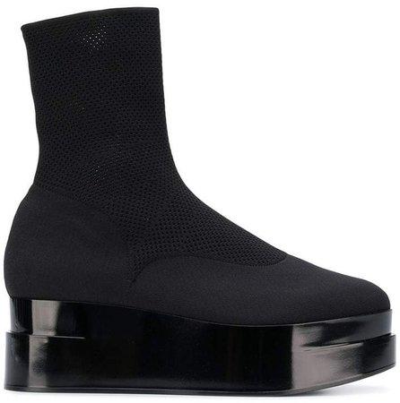 Clergerie platform ankle boots