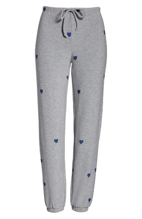 Chaser Tiny Hearts Jogger Pants | Nordstrom
