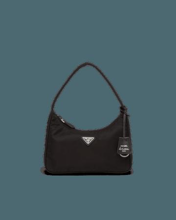 Re-Edition 2000 Nylon Mini Bag   Prada