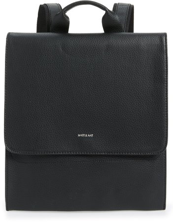 Purity Mavi Vegan Leather Backpack