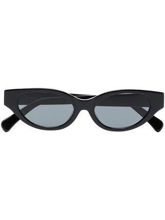 Karen Wazen Glamorous cat-eye Sunglasses - Farfetch