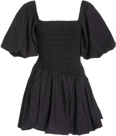 LoveShackFancy Asa Smocked Cotton Dress