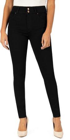 Mia High Waist Toothpick Skinny Jeans