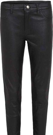 Houston Legging Black Stretch Leather