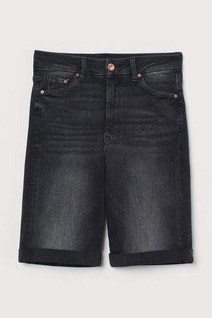 Embrace High Bermuda Shorts - Black