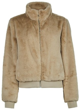 **Only Tan Oversized Coat