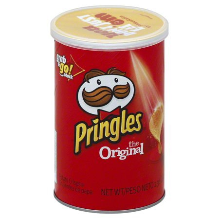 Pringles Original Potato Crisps Chips 2.36 oz can - Walmart.com