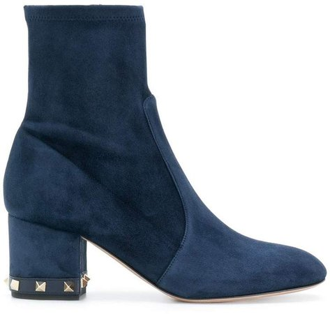 Rockstud ankle boots