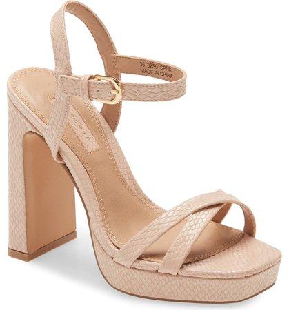 Topshop Sienna Platform Sandal (Women) | Nordstrom