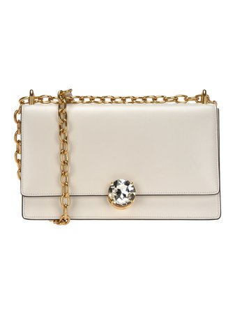 Miu Miu Miu Miu Solitaire Leather Shoulder Bag