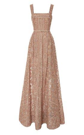 Beige-Pink Gown