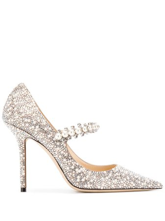 Jimmy Choo Baily 100mm Pumps - Farfetch