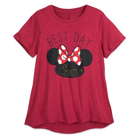 Minnie Mouse Ear Hat T-Shirt - Women | shopDisney