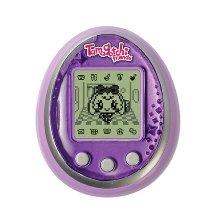 Purple Tamagotchi