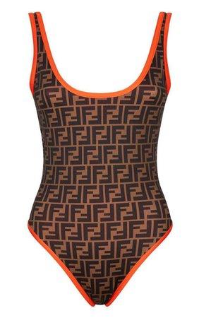 Fendi Logomania Swimsuit