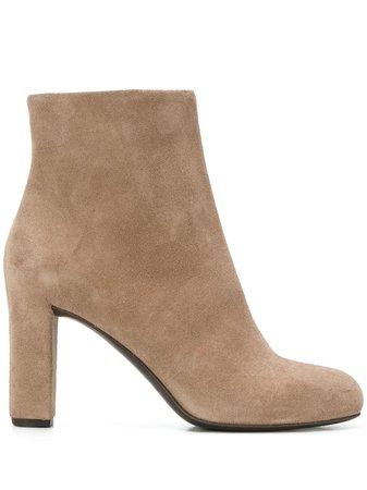 Del Carlo Block Heel Ankle Boots