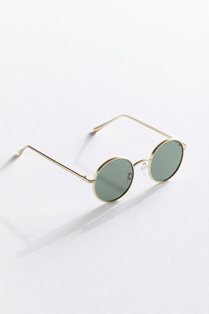 Rayanne Metal Round Sunglasses | Urban Outfitters