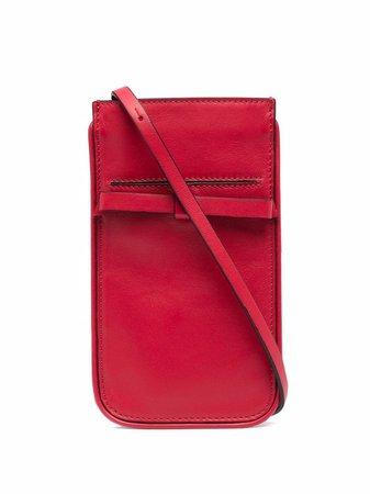 RED(V) logo-print crossbody bag - FARFETCH