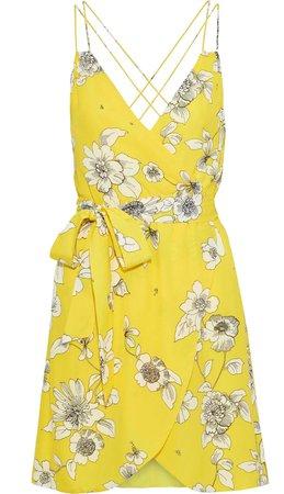 Alice and Olivia yellow dress