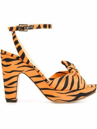 CHARLOTTE OLYMPIA 'Mansfield' tiger print platform sandals 36 NWB $822   eBay