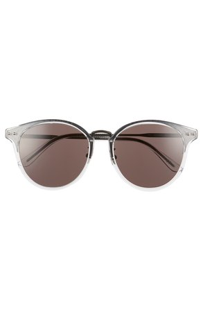 Bottega Veneta 56mm Round Sunglasses | Nordstrom