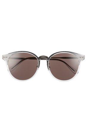 Bottega Veneta 56mm Round Sunglasses | Nordstrom