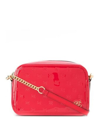 Fendi Karligraphy Embossed Crossbody Bag - Farfetch