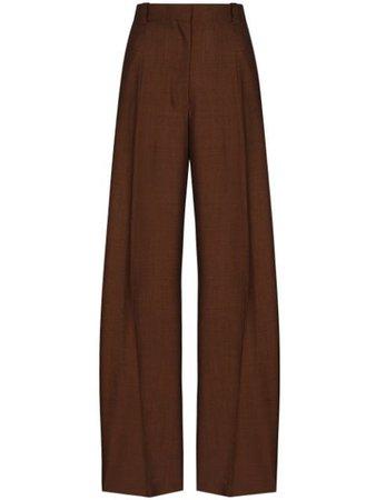 EFTYCHIA straight-leg tailored trousers - FARFETCH