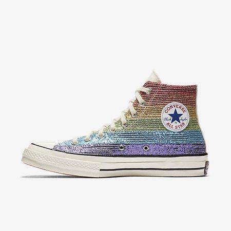 Converse Pride x Miley Cyrus Chuck 70 High Top Unisex Shoe. Nike.com
