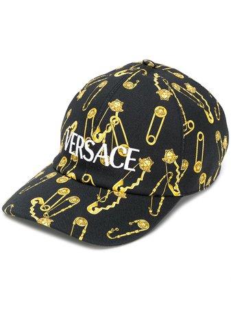 Versace Keps Med Säkerhetsnål - Farfetch