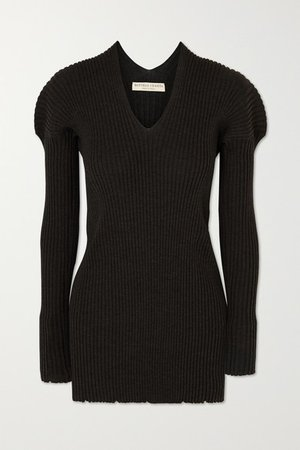 Bottega Veneta | Ribbed wool sweater | NET-A-PORTER.COM