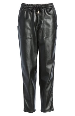 BLANKNYC No Guidance Ankle Faux Leather Pants   Nordstrom