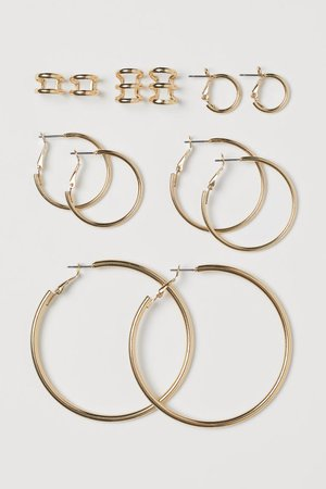 Hoop Earrings and Ear Cuffs - Gold-colored - Ladies | H&M US