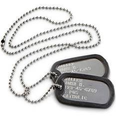 dog tags military - Google Search