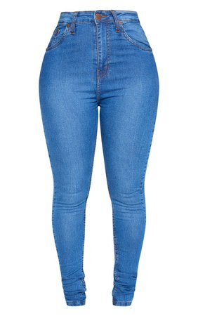 Shape Black Super Stretch Skinny Jeans | PrettyLittleThing USA