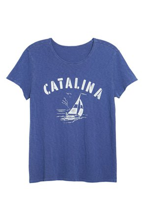 Lucky Brand Catalina Sailing Graphic Cotton Tee | Nordstrom