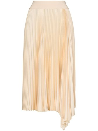 Joseph Sabin Asymmetric Pleated Skirt - Farfetch